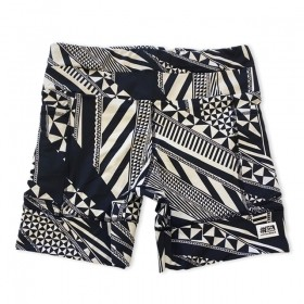 Shorts de compressão 1500 bolsos em compress estampado