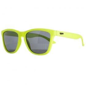 Óculos YOPP  amarelo neon com lente preta