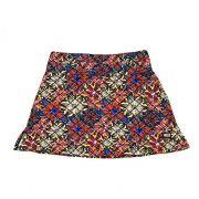 Saia Fitness 1500 bolsos estampa Mosaico Floral