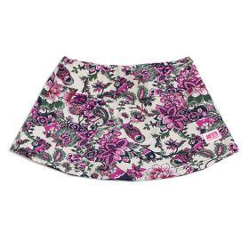 Saia shorts infantil estampa matrioska
