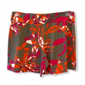 Short saia estampa floral