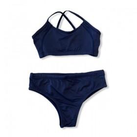 Sunquini em sportiva azul marinho