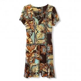 Vestido estampado borboletas