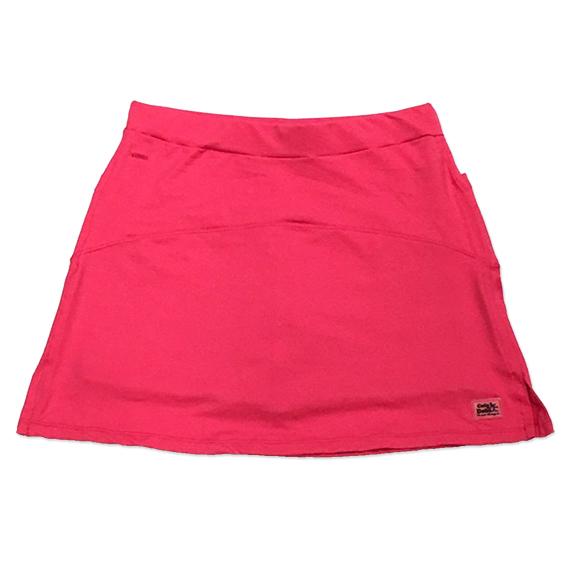 Saia fitness mil bolsos rosa (5 bolsos)