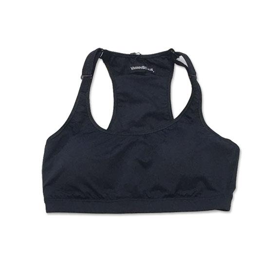 Top de compressão com bolso e bojo em sportiva ajuste alça costas preto bolso estampado étnico