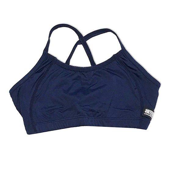 Top sunquini swim azul marinho  - Vivian Bógus