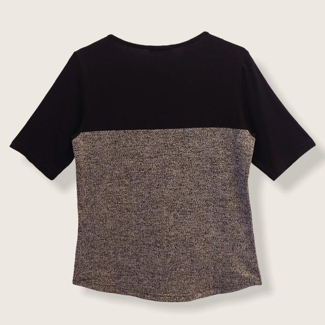Blusa Confort bicolor   - Vivian Bógus