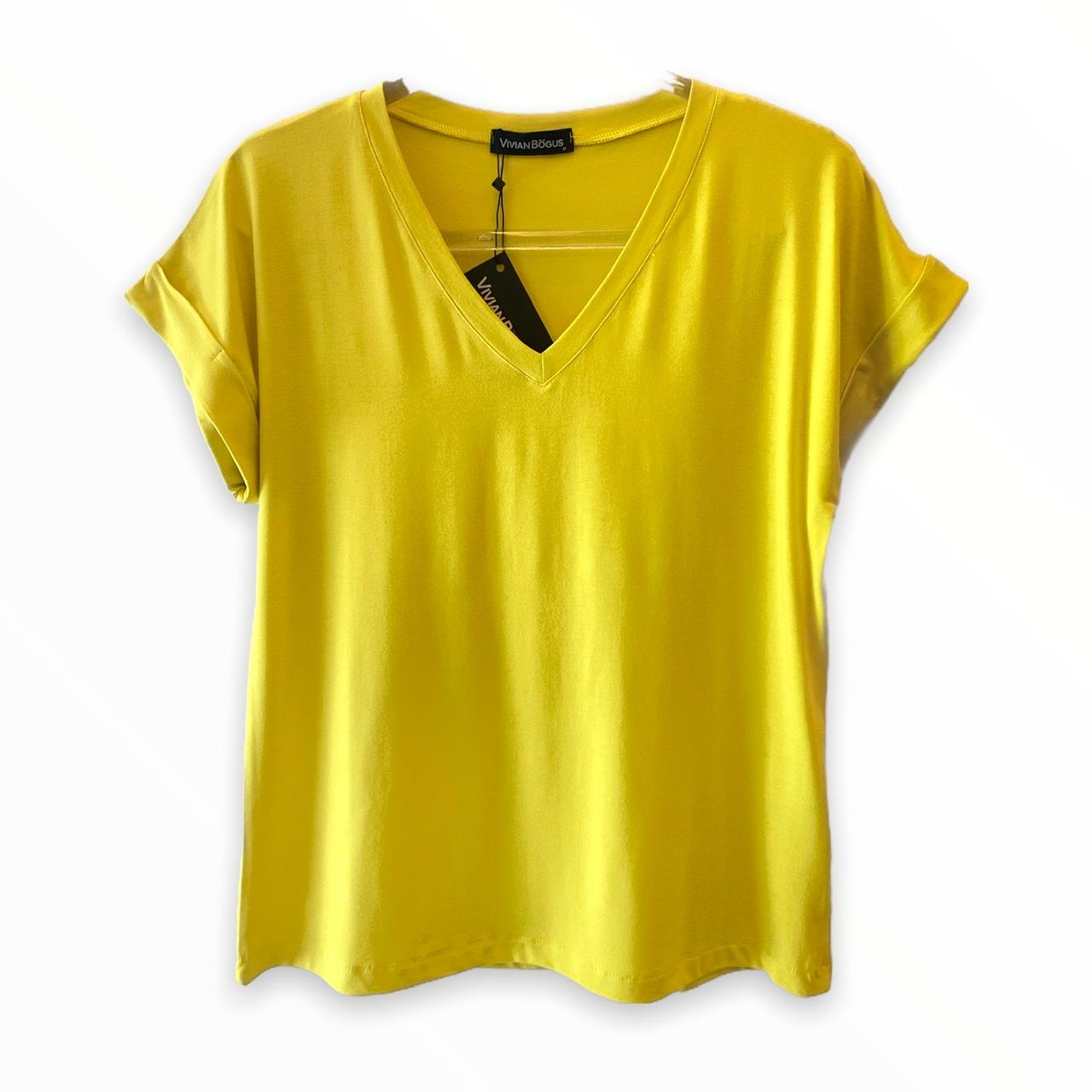 Blusa Mariah Amarela