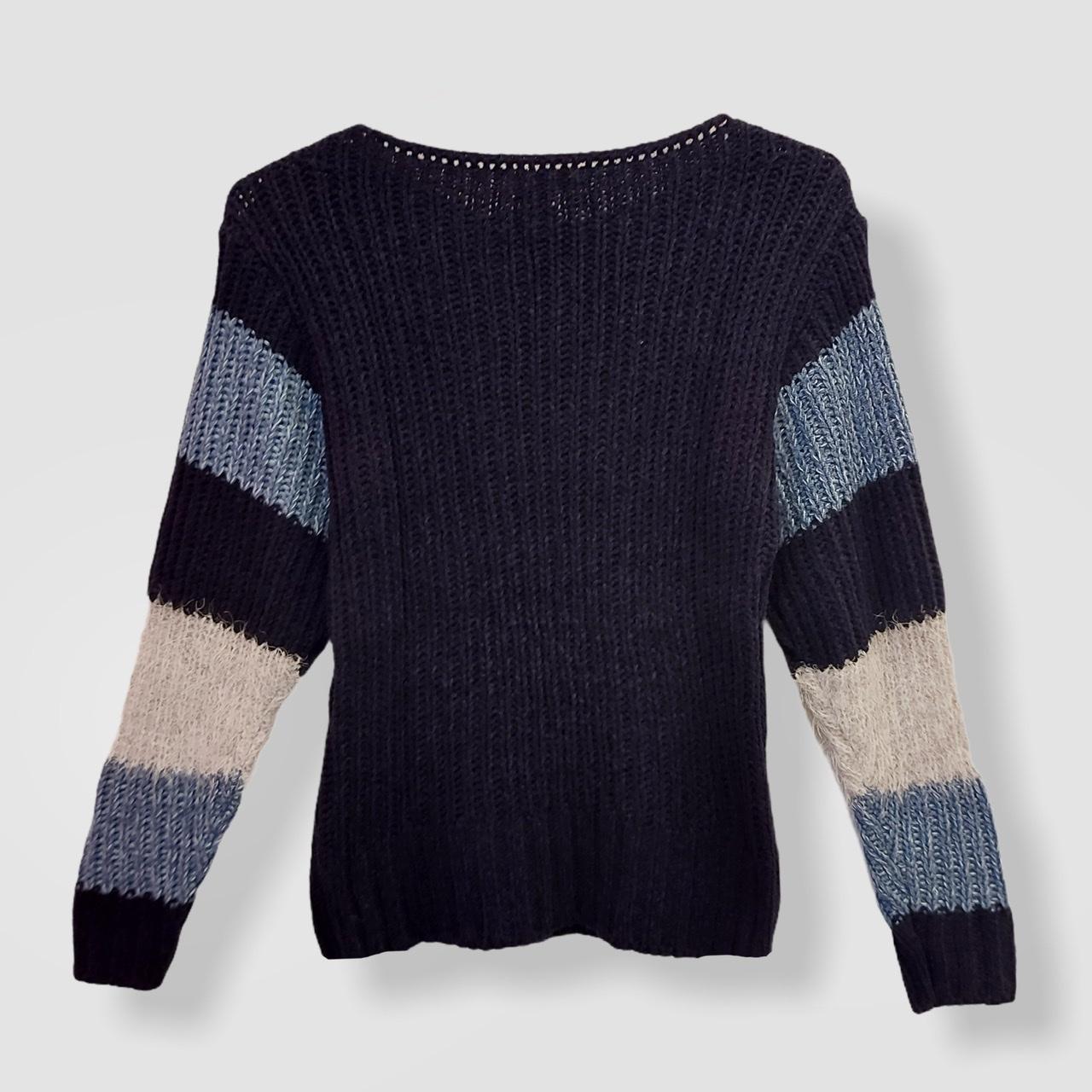Blusa Morgot listrada tricot  - Vivian Bógus