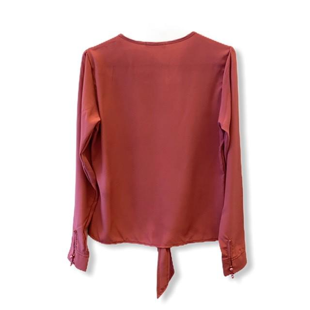 Blusa nózinho goiaba  - Vivian Bógus
