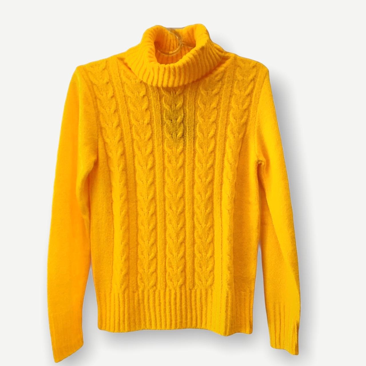 Blusa Rebeca amarela tricot  - Vivian Bógus