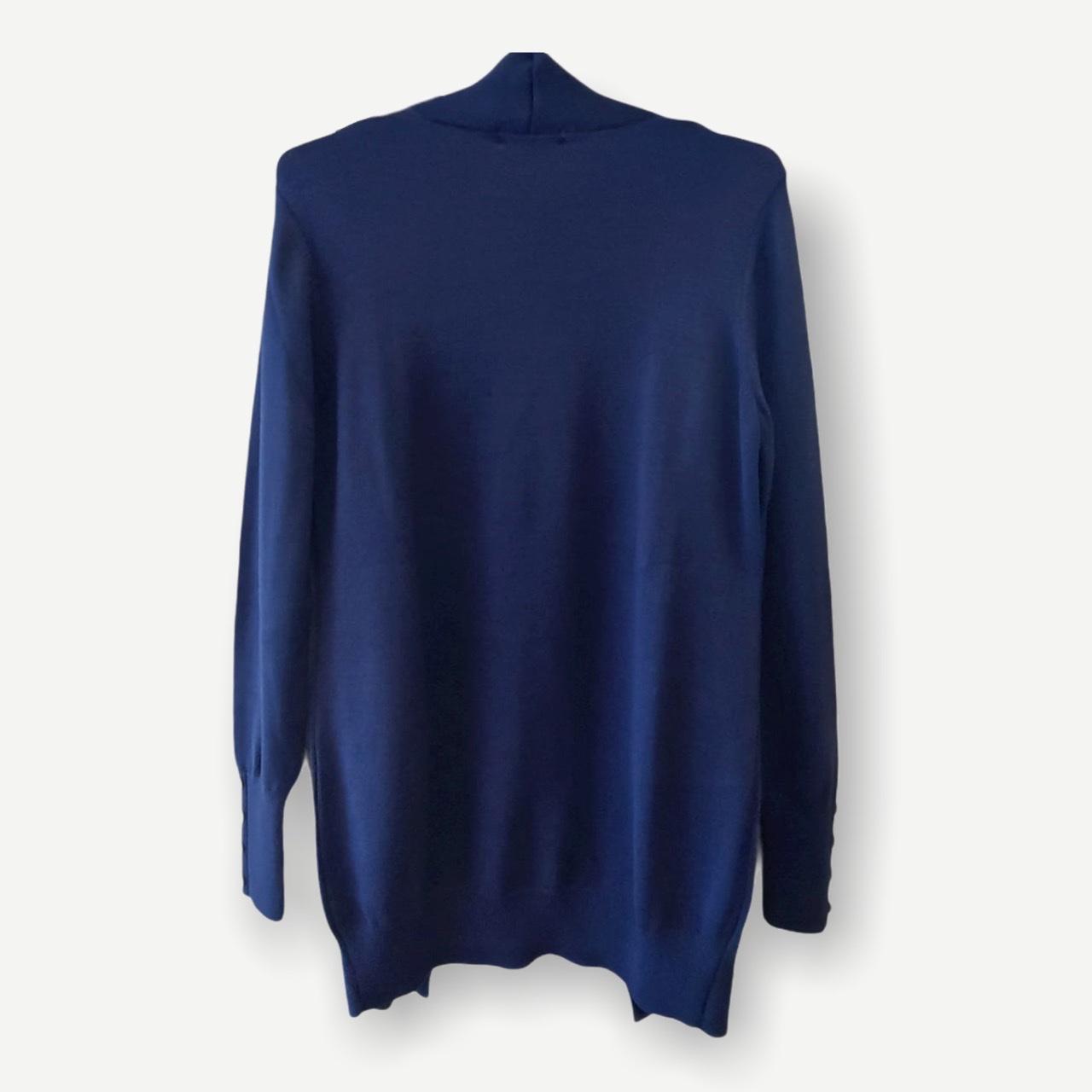 Casaco Leticia azul tricot   - Vivian Bógus