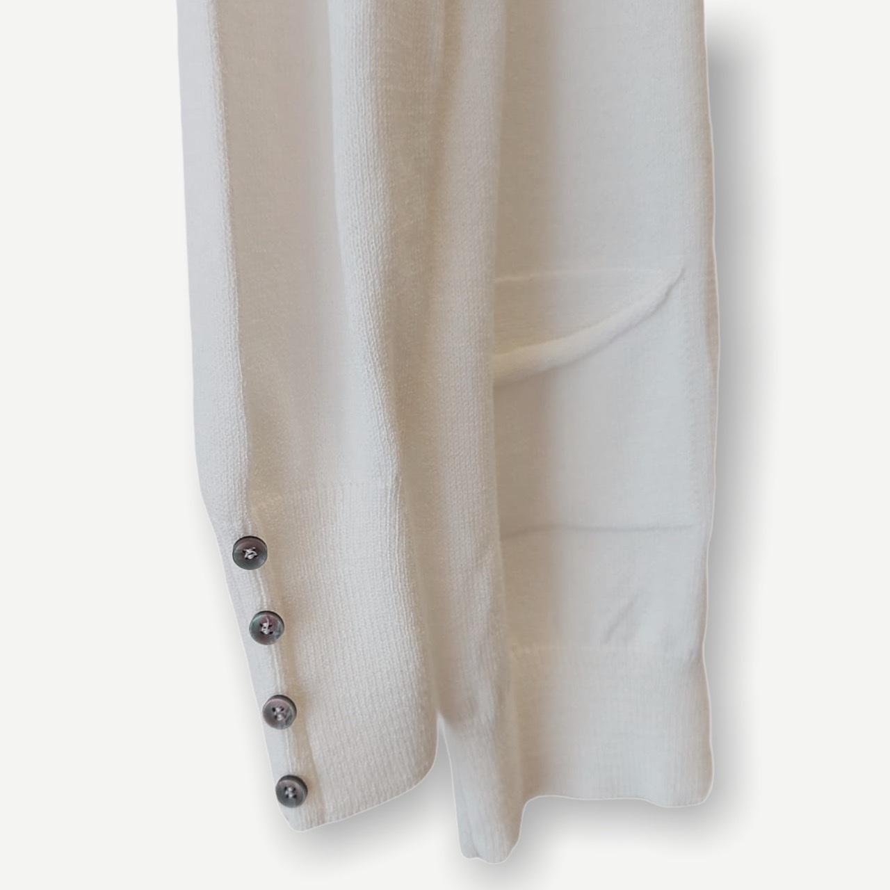 Casaco Leticia off white tricot