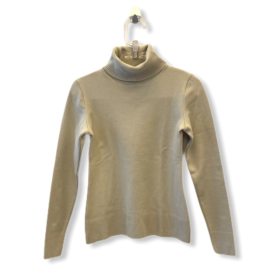 Blusa tricô gola alta stretch (cores)  - Vivian Bógus