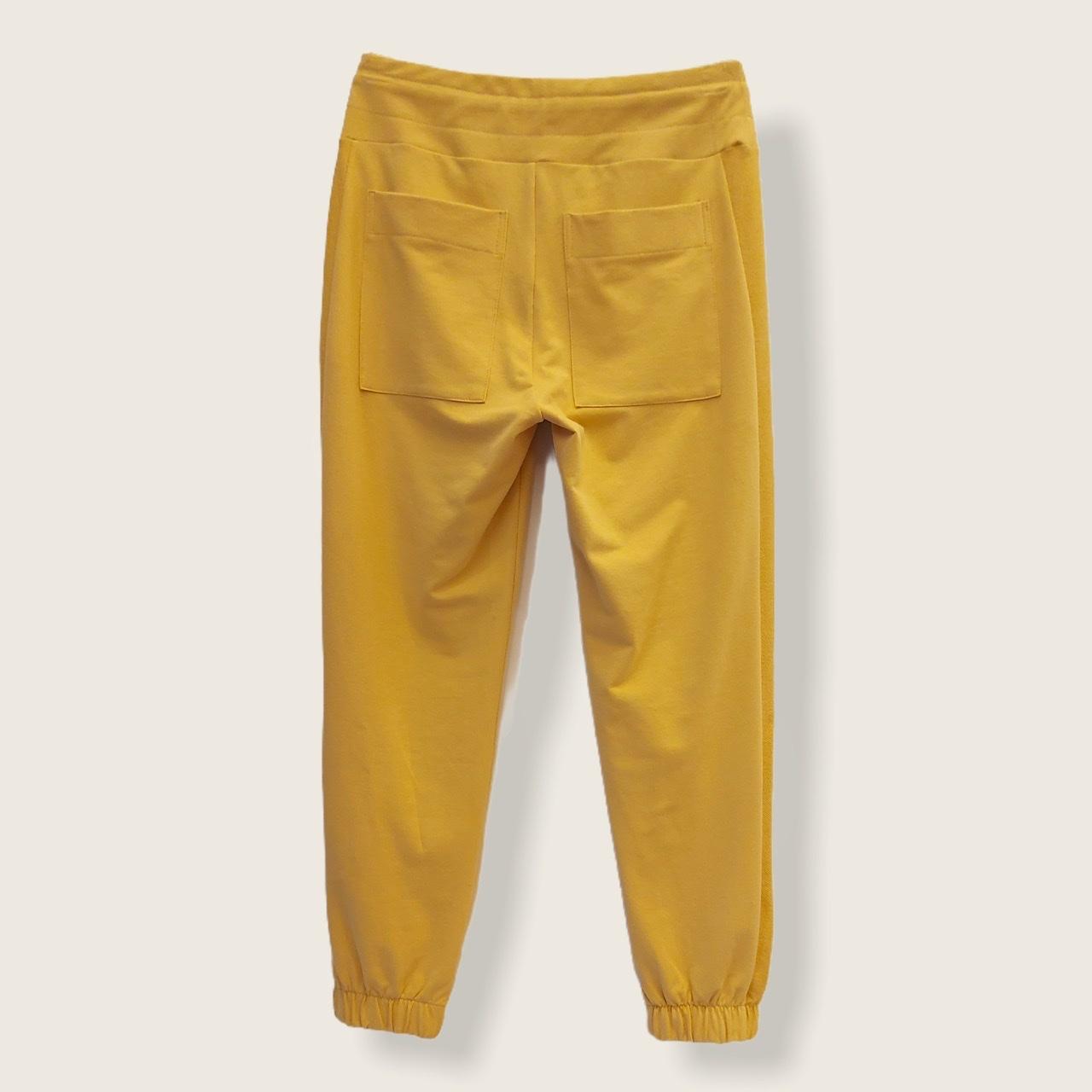 Calça Confort jogger amarela  - Vivian Bógus
