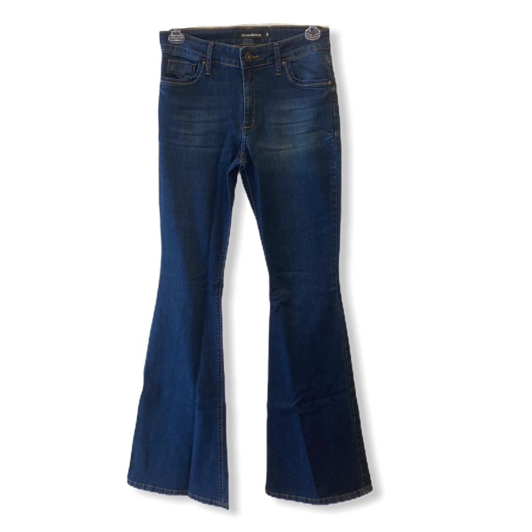 Calça Jeans Flare  - Vivian Bógus