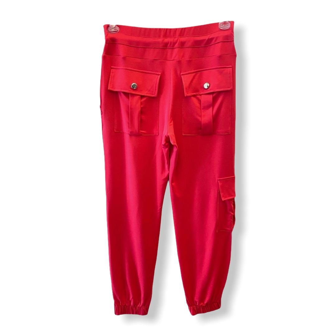 Calça Jogger em malha pink  - Vivian Bógus