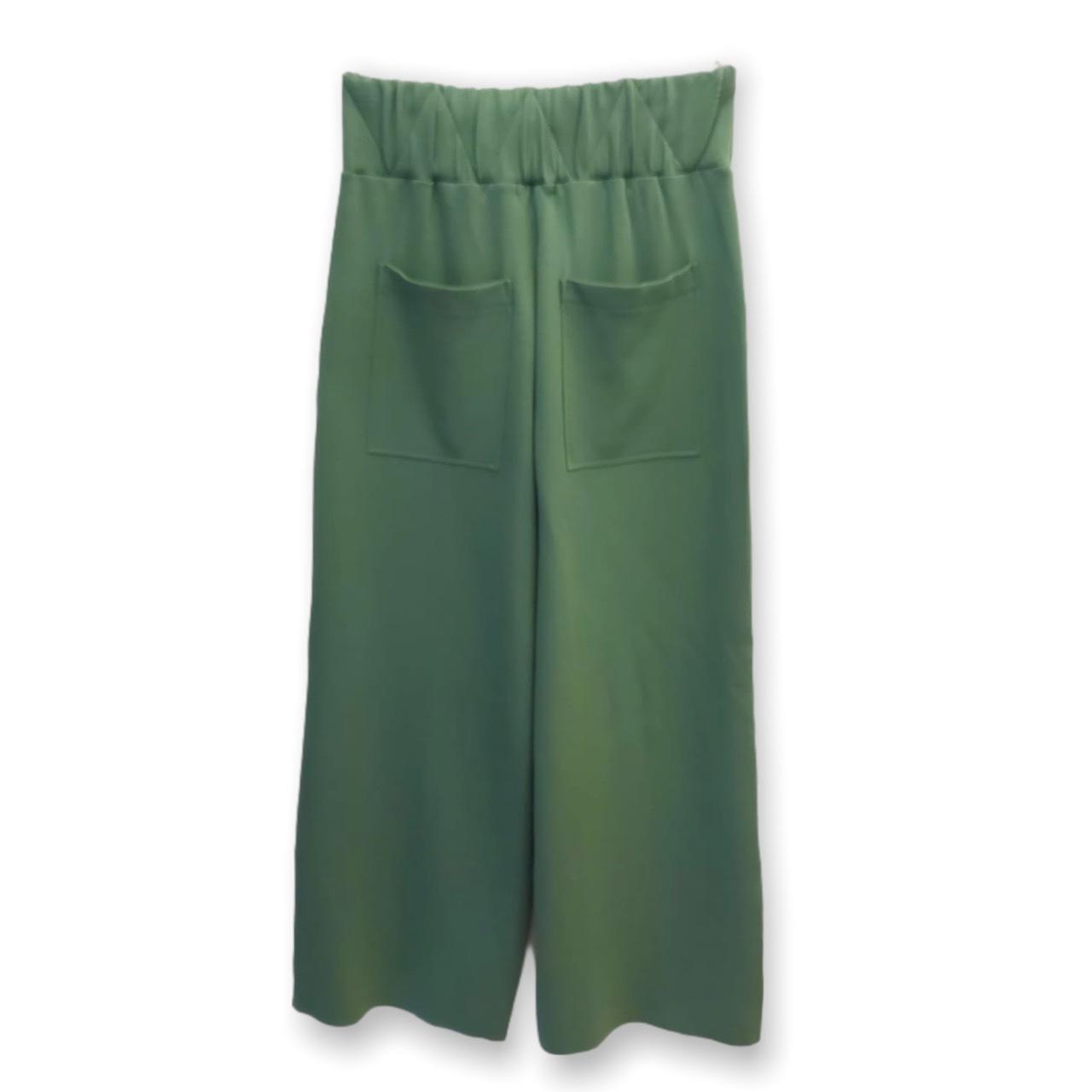 Calça Raquel verde em neoprene