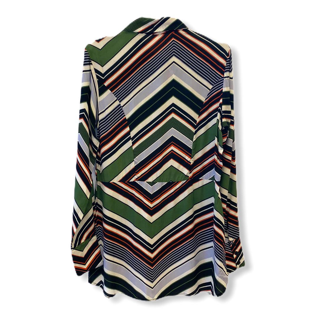 Camisa mullet estampada multicolorida  - Vivian Bógus