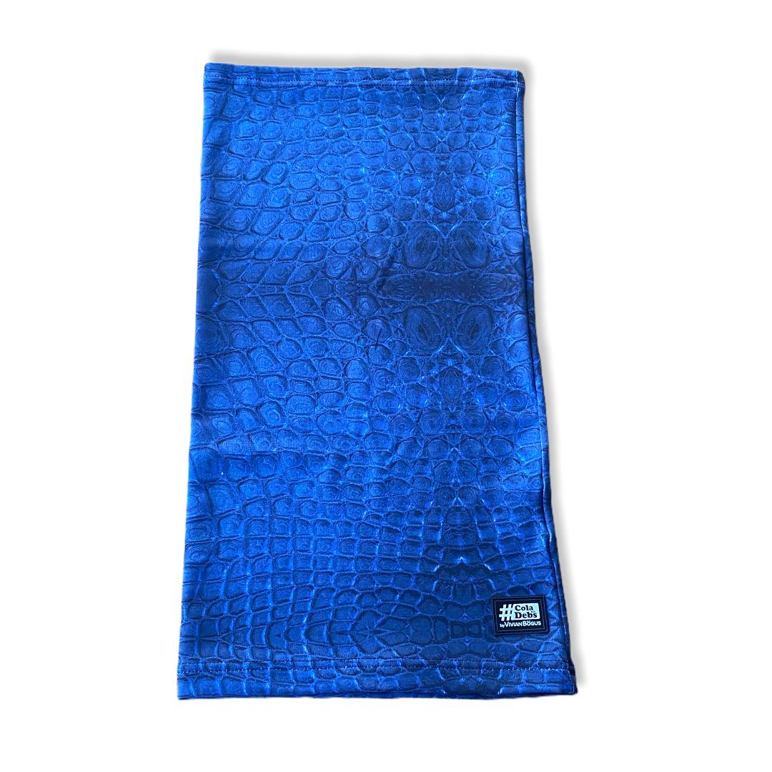 Gola Multiuso - azul estampada