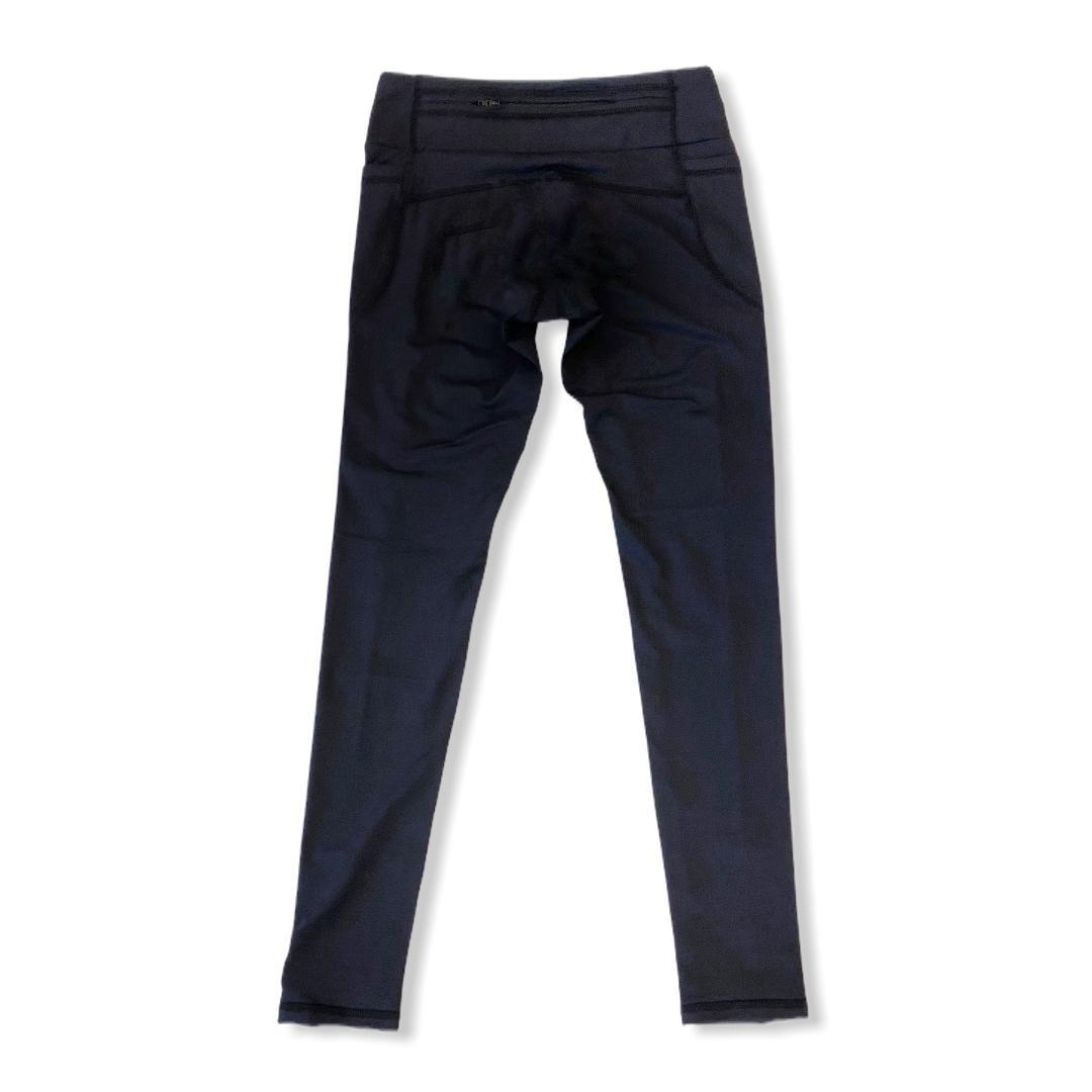 Legging de compressão 1500 bolsos em sportiva preta  - Vivian Bógus