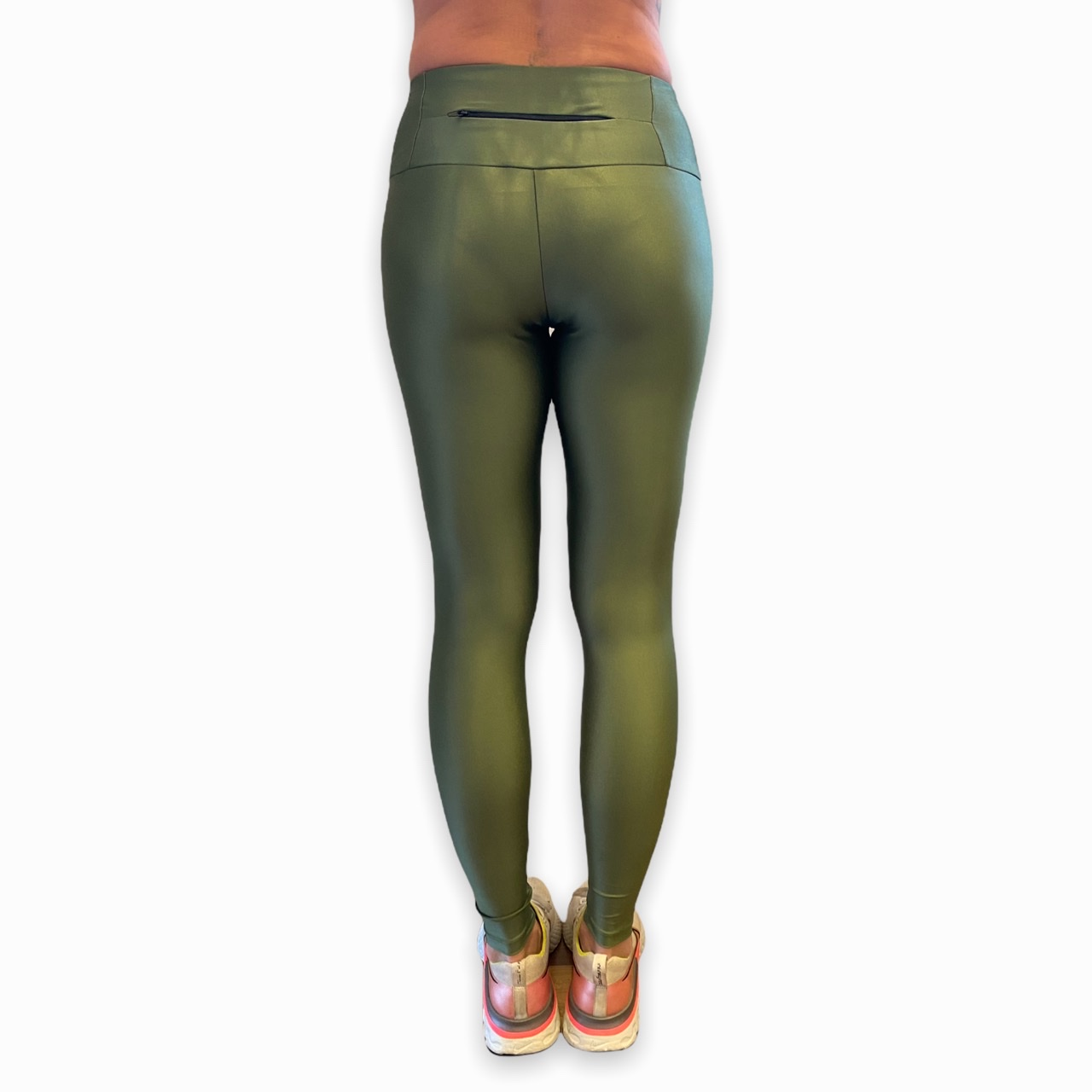 Legging GYM verde em cirrê
