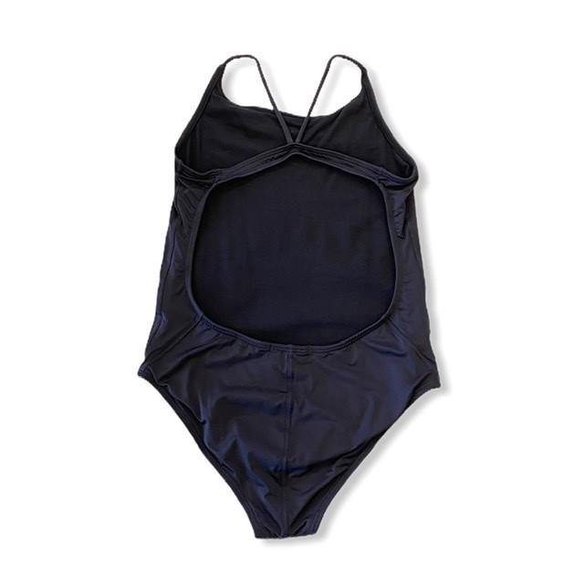 Maiô natação alcinha preto  - Vivian Bógus