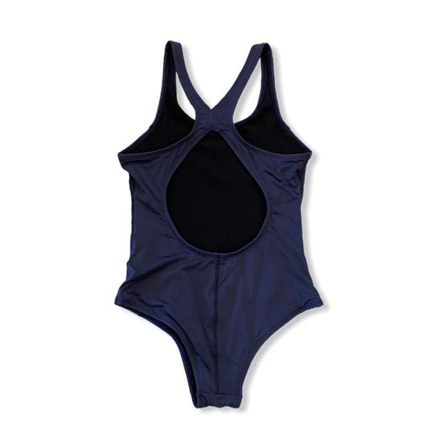 Maiô natação em swim azul marinho  - Vivian Bógus