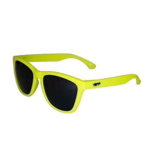 Óculos YOPP  amarelo neon com lente preta  - Vivian Bógus