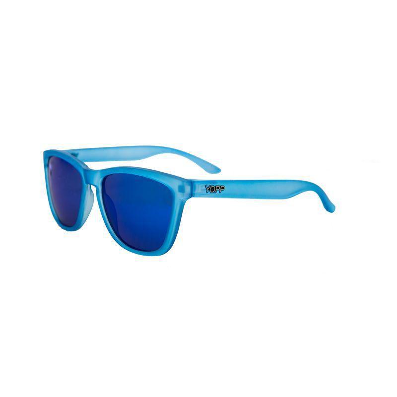 Óculos YOPP com lente espelhada azul  - Vivian Bógus