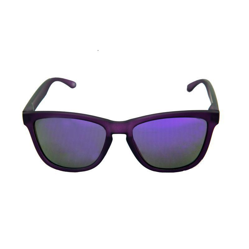 Óculos YOPP com lente espelhada roxo  - Vivian Bógus