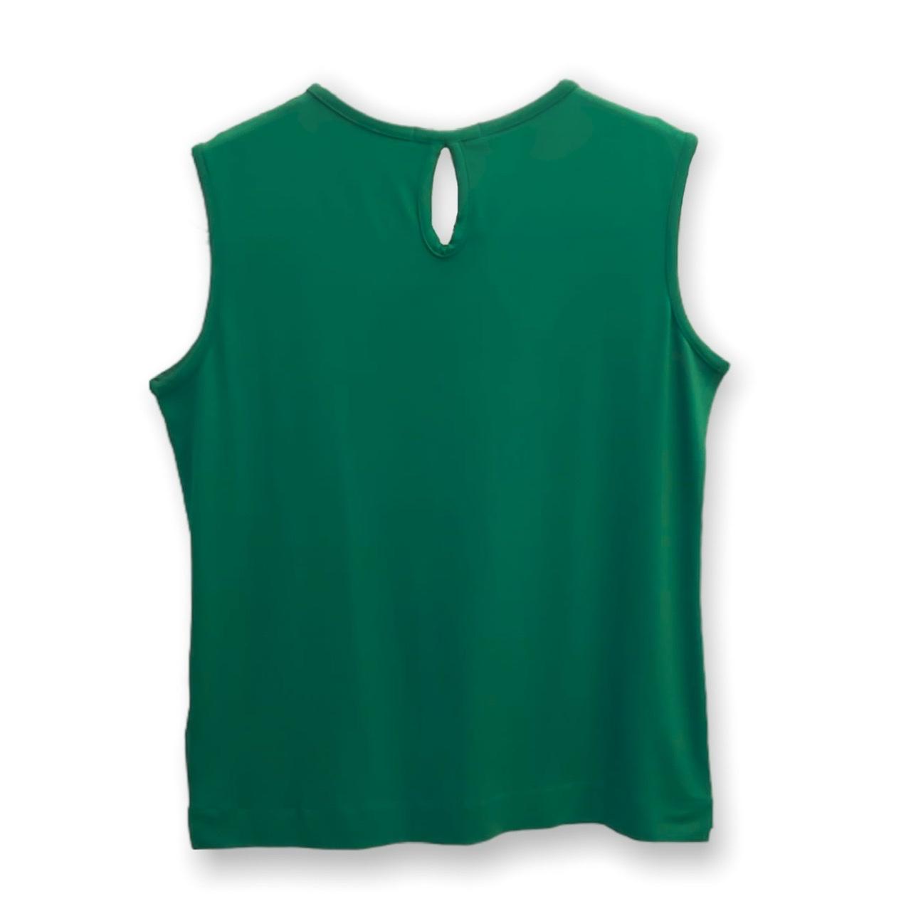 Regata com gota nas costas verde