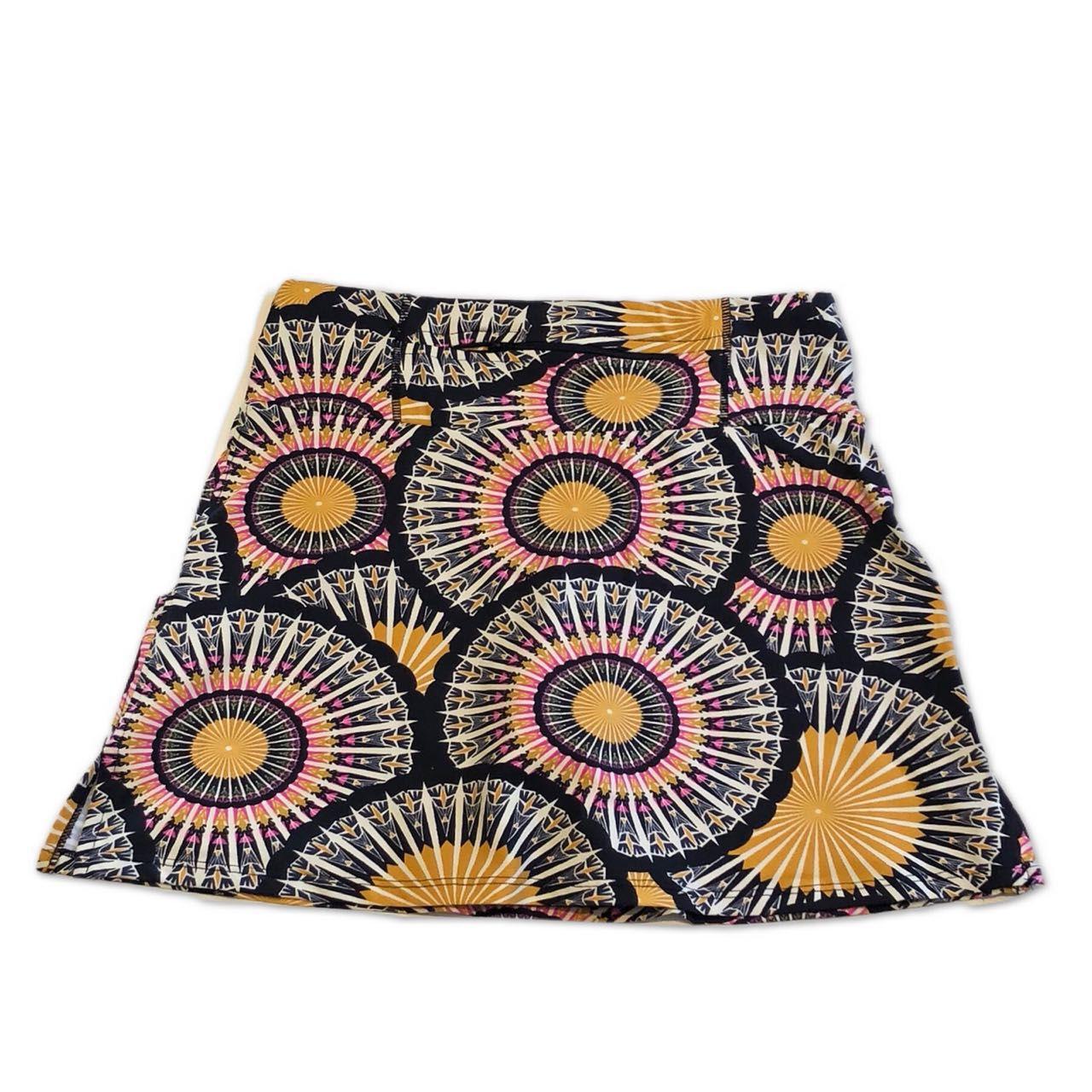 Saia Fitness 1500 bolsos estampa Mandala