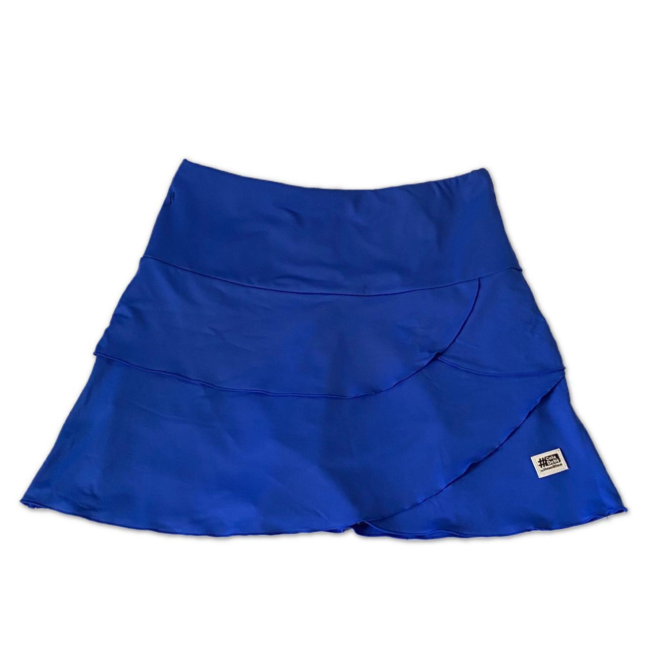 Saia fitness camadas azul royal ( novo modelo!)