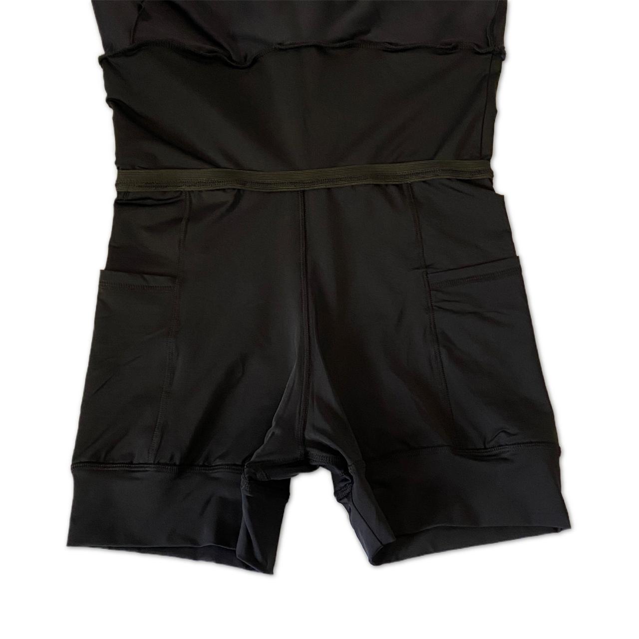 Saia fitness camadas preta ( novo modelo!)  - Vivian Bógus