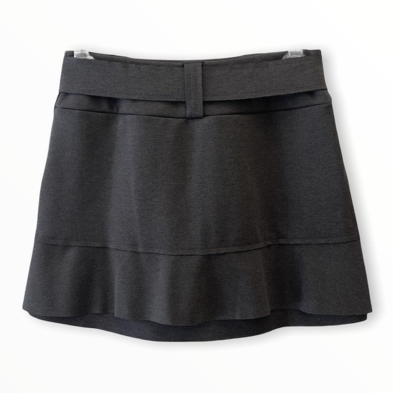 Saia shorts Helô cinza