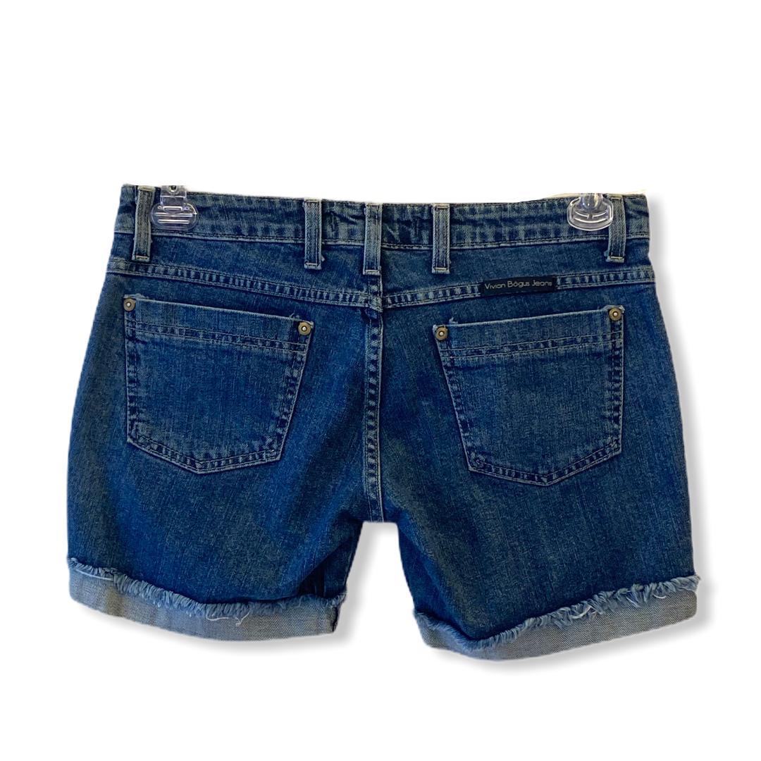 Shorts Blue Jeans  - Vivian Bógus