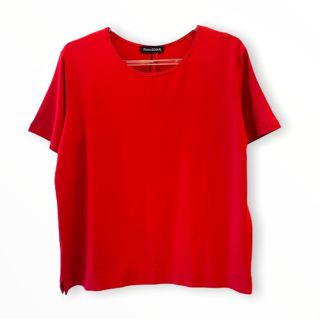 T-shirt Juliana Vermelha