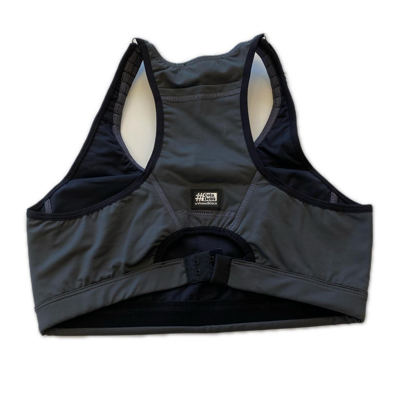 Top mil bolsos de compressão ajustável com bolsos frente e costas chumbo  - Vivian Bógus