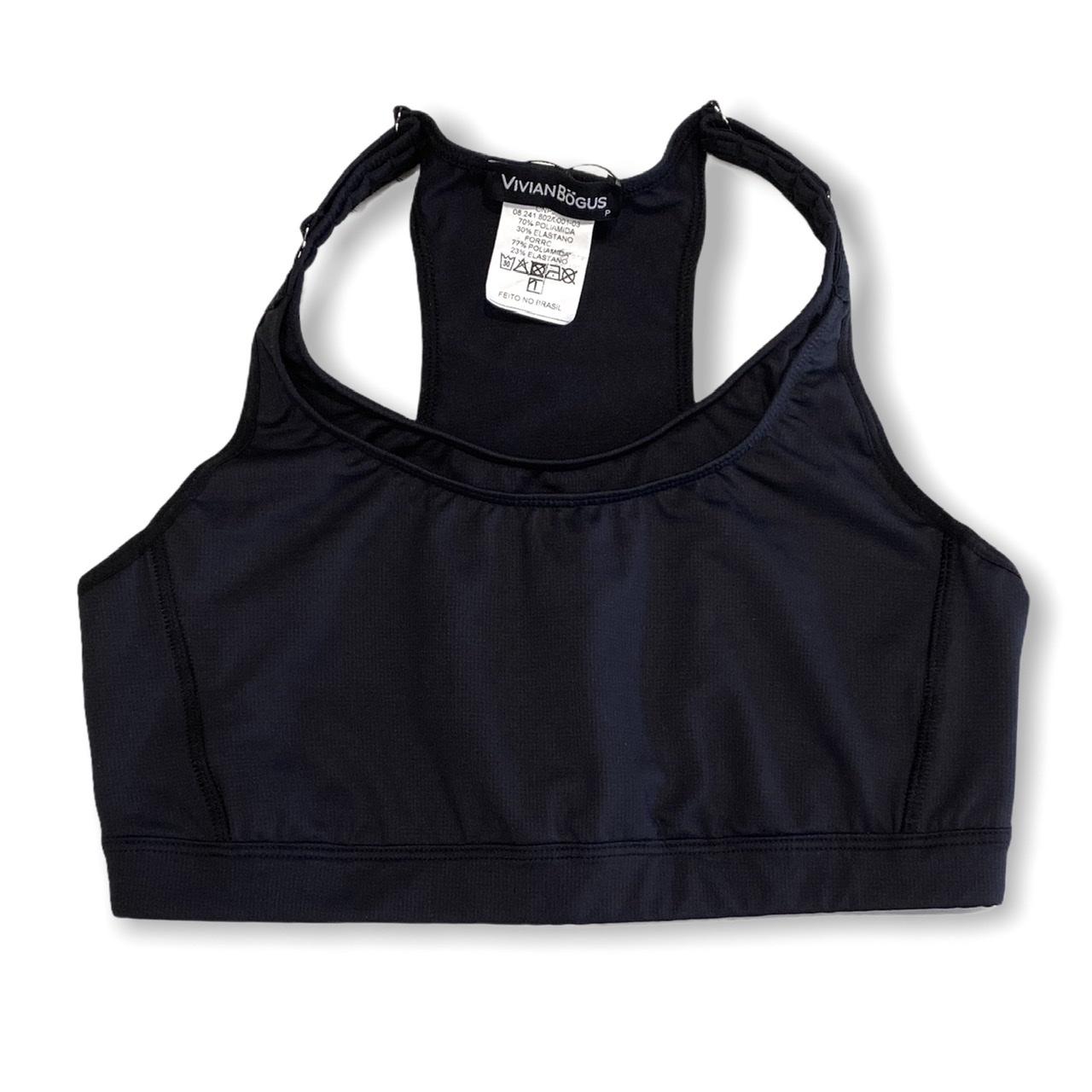 Top mil bolsos de compressão ajustável com bolsos frente e costas preto  - Vivian Bógus