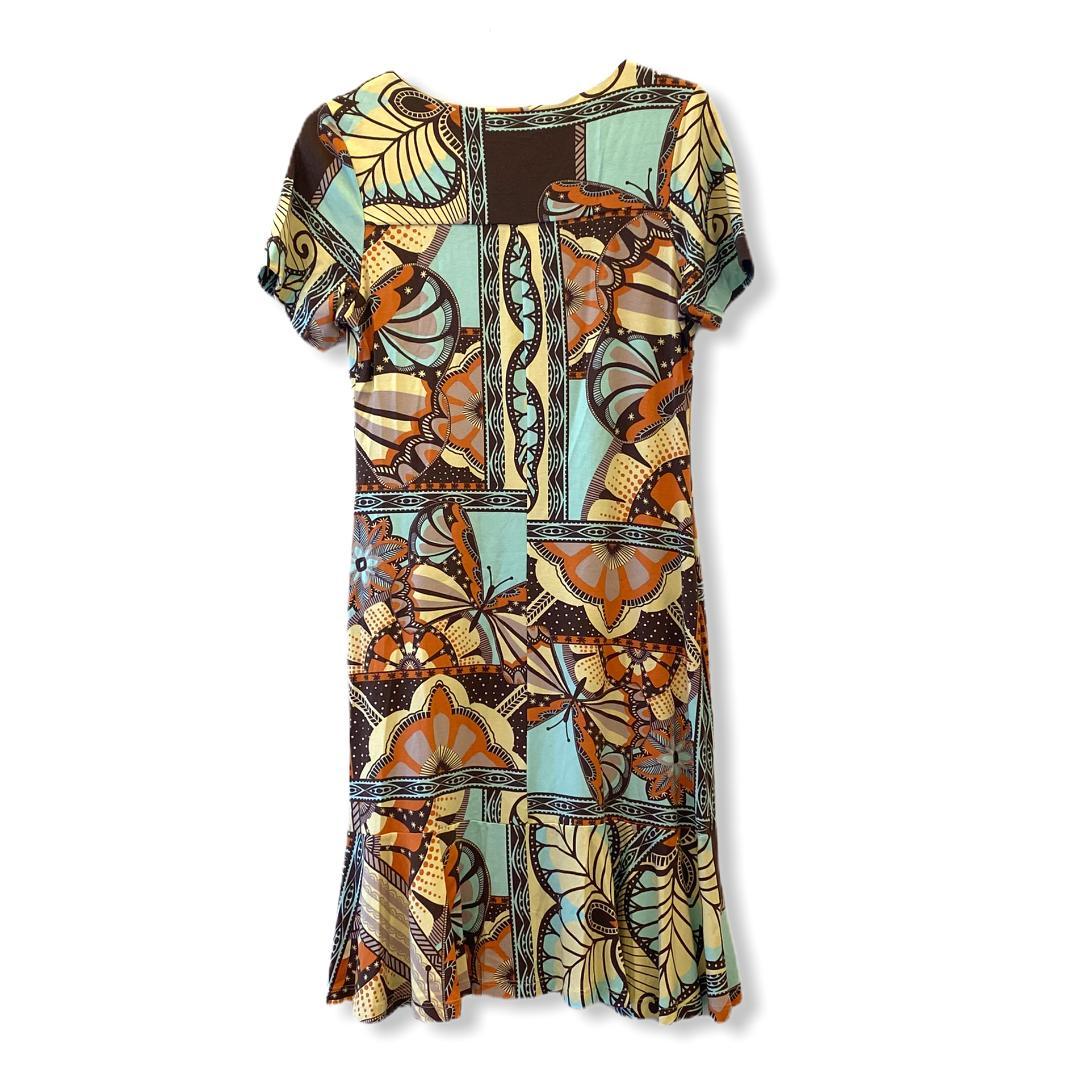 Vestido estampado borboletas  - Vivian Bógus