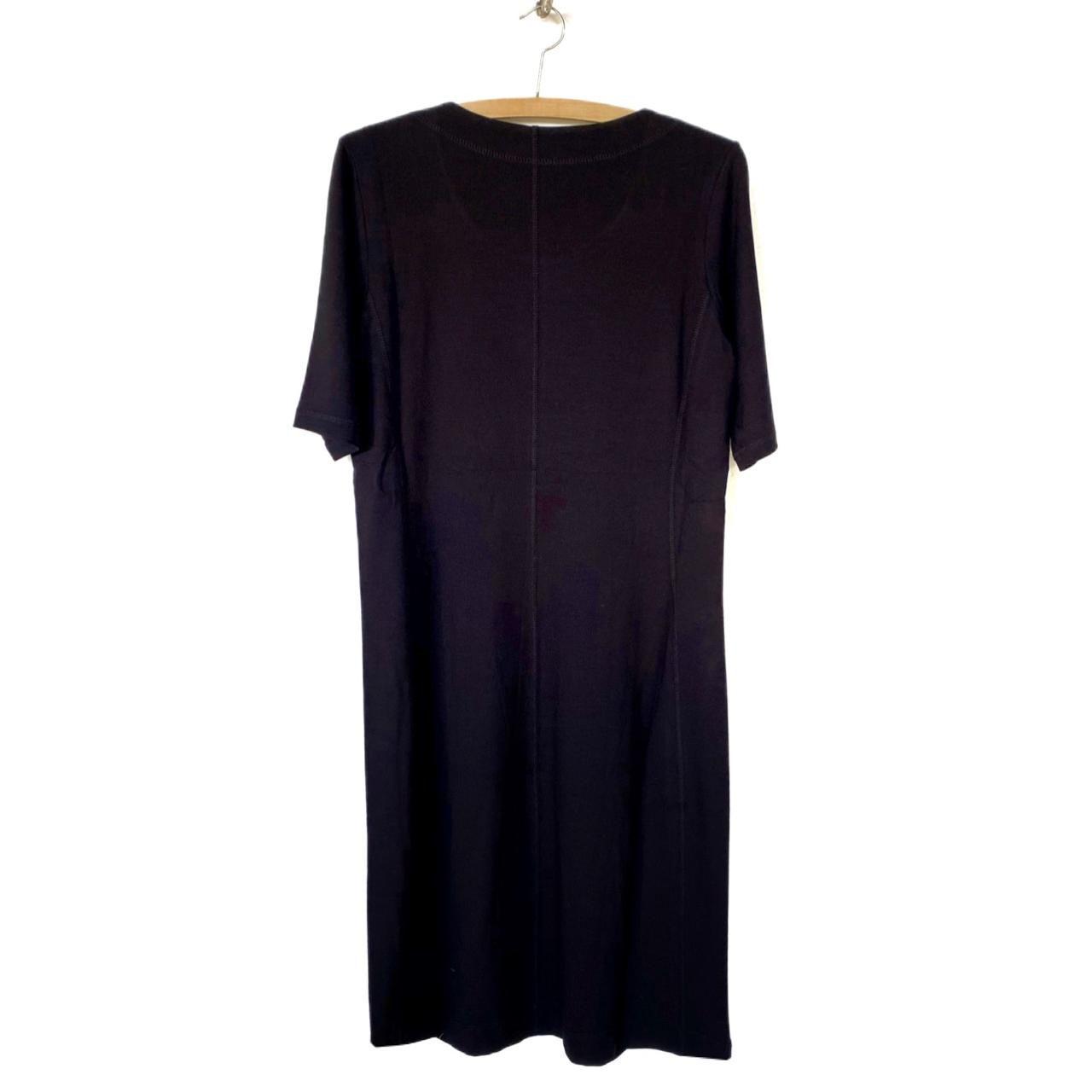 Vestido Karin preto  - Vivian Bógus