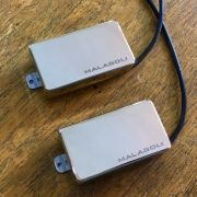 Humbucker Nickel Cover - C/ Marca Malagoli