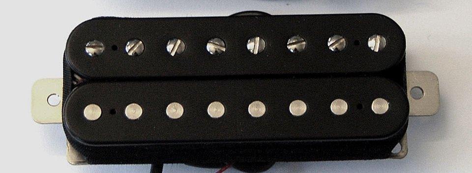 Custom 59 - 8 cordas - Braço  - Malagoli Eletrônica Ltda