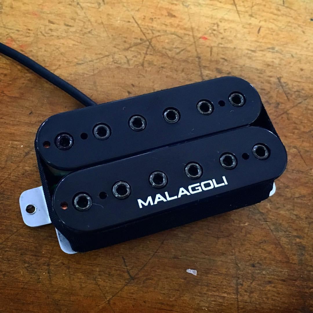 Captador Humbucker com marca Malagoli  - Malagoli Eletrônica Ltda