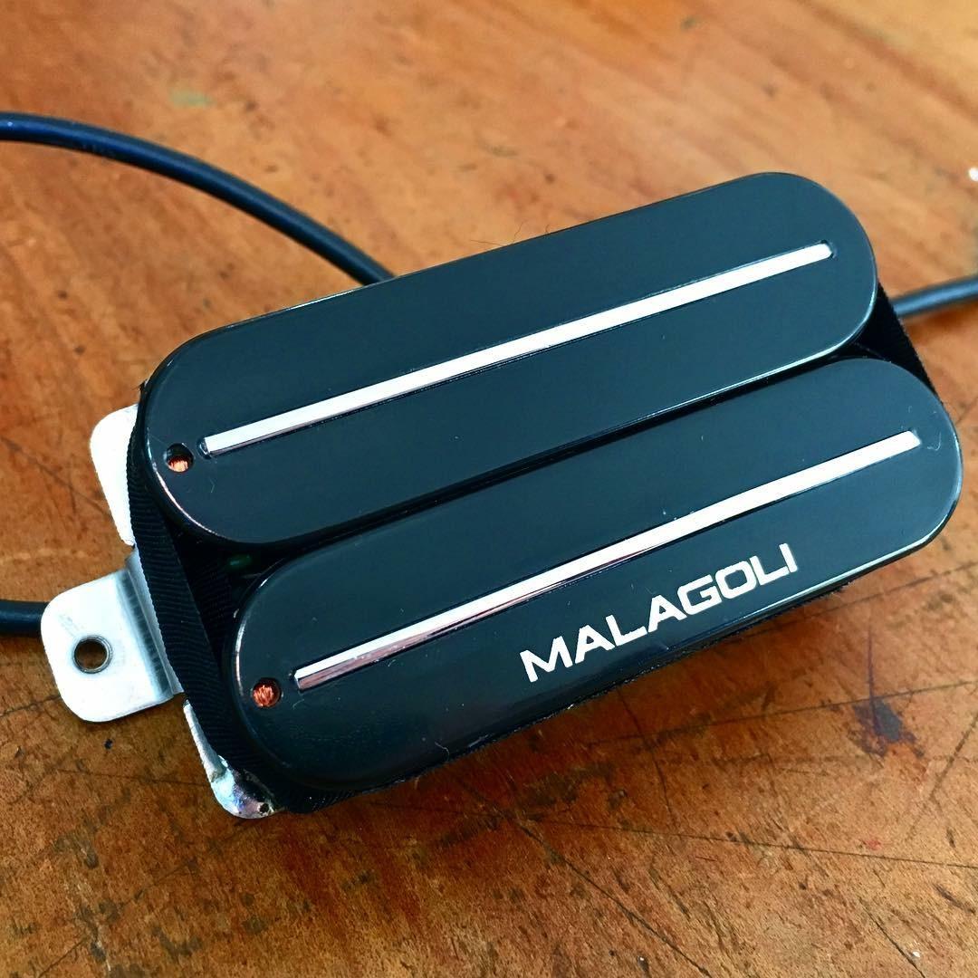 Customização de Humbucker com LÂMINAS  - Malagoli Eletrônica Ltda
