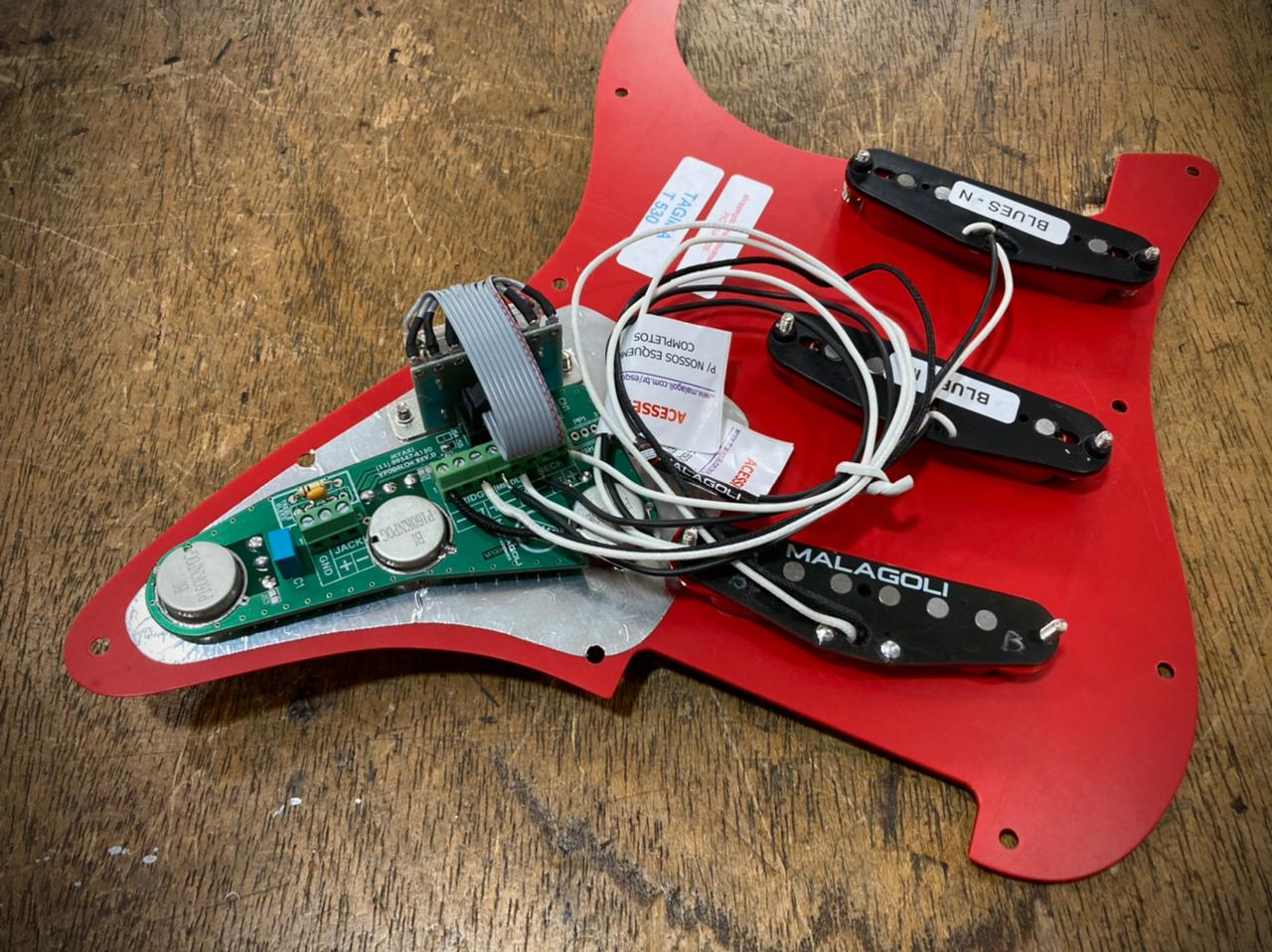 Escudo completo c/ solderless  - Malagoli Eletrônica Ltda