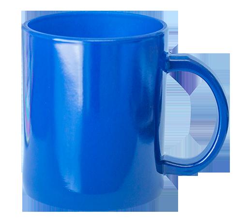 Caneca de Vidro - Mágica Azul - 325ml