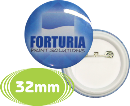 Botton Circular - 32mm - 50 UNIDADES