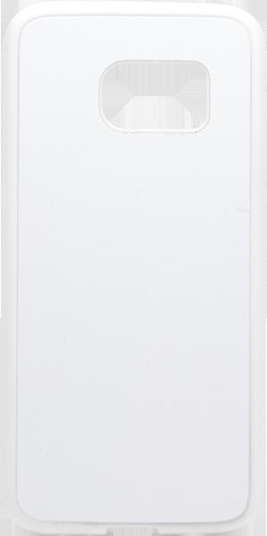 Capa Samsung Galaxy S7 - Plana - Borracha Flexível - Branca